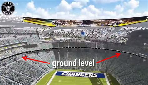 A Jaw-dropping Tour Of The Raiders & Chargers