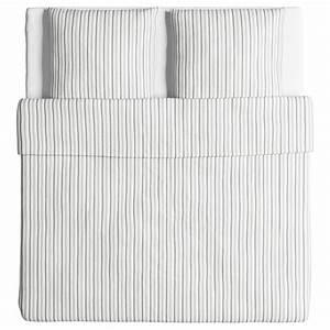 Bettwäsche Grau Weiß Gestreift : ikea bettw sche garnitur h st ga grau wei gestreift drei gr en ebay ~ Markanthonyermac.com Haus und Dekorationen