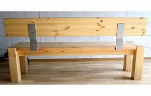Küchenbank Mit Rückenlehne : sitzbank 180x86x47cm mit r ckenlehne kiefer massiv gelaugt ge lt ~ Whattoseeinmadrid.com Haus und Dekorationen
