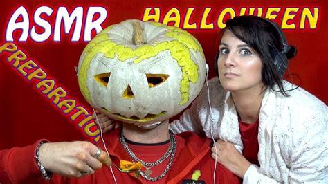 Asmr Halloween Preparation  Pumpkin Carving Youtube