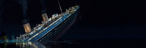 Titanic Sinking Animation 3d by Titanic Sinking Panoramic Wallpaper By Jaksonstoker On