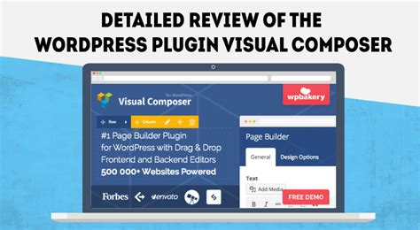Visual Composer Review Best Drag And Drop Website Builder