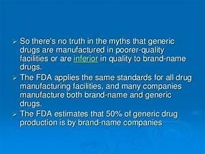 Brand vs Generic -A War?