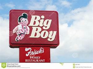 Frischs Big Boy Sign Editorial Photography - Image: 20914937