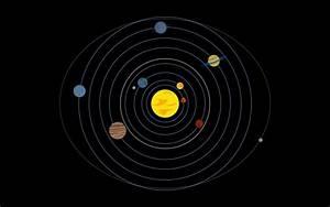 Minimalistic Artwork Orbit Outer Space Artwork Planet