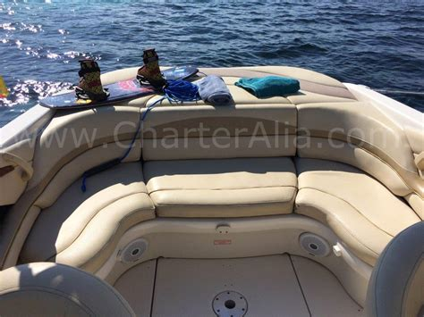 Boat Seats Sea Ray by Skippered Speed Boat Sea Ray 230 For 10 People Yacht