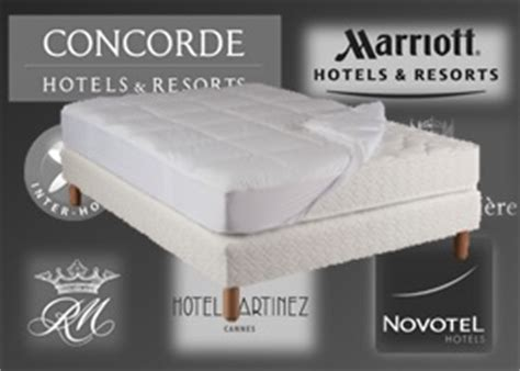 matelas hotel luxe my