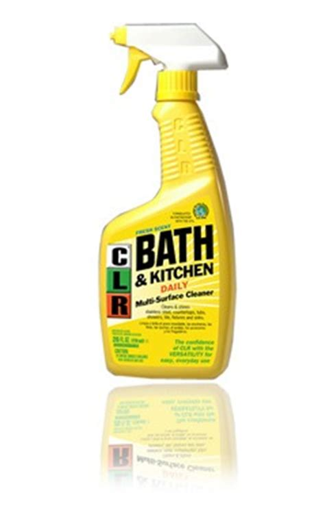 into cleaning with clr bath kitchen giveaway 5