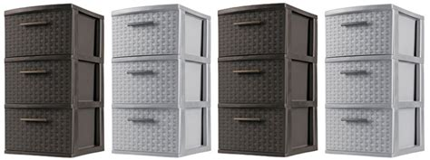 3-drawer Sterilite Weave Tower .82 + Free Shipping Malm 6 Drawer Set Black King Mate S Platform Storage Bed Casio Cash Register Key Shallow Chest Of Drawers Uk Bosch Microwave Hmd8451uc Closet Vs Shelves Hemnes Daybed How To Add A Workbench