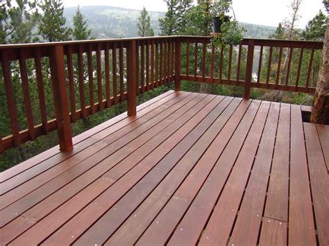 wood deck railing options carpenters networx