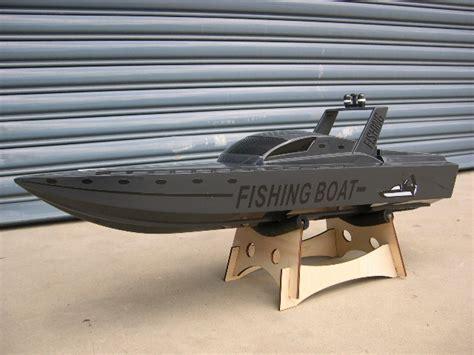 Toy Rc Fishing Jet Boat by New Rc Fibreglass Fishing Boat Rtr Em068ap
