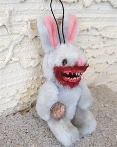 31 best Creepy OOAK Bunnies, Bears, Zombie Animals images ...