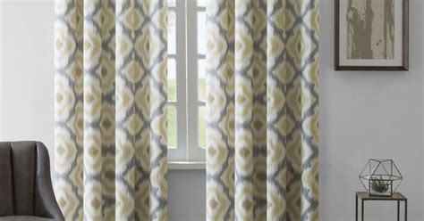 Ink+ivy Ankara Cotton Printed Curtain Panel (108-taupe Rave Lights Cordless Picture Light Lighting Control Recessed Kit Bathroom With Outlet Fluorescent Covers Outside E26 Bulb