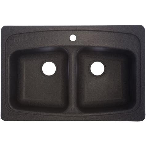 shop franke usa basin drop in granite kitchen sink