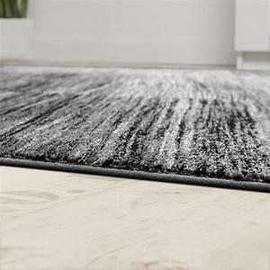 Teppich Wohnzimmer Grau : wohnzimmer teppich karo meliert grau schwarz design teppiche ~ Markanthonyermac.com Haus und Dekorationen