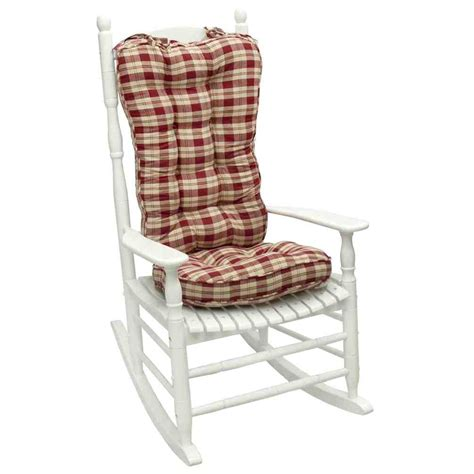 jumbo rocking chair cushion sets home furniture design