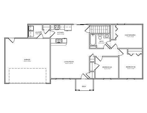 Beautiful Small House Floor Plans-cottage House Plans