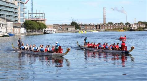 Dragon Boat Racing Dublin by Sisk Wins Dragons At The Docks Property Industry