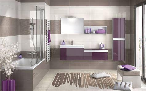 salle de bain violette et taupe photo 3 20 une salle de bain revitalisante 224 d 233 couvrir