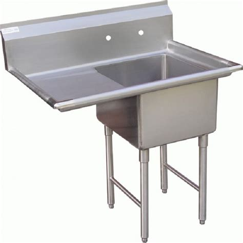 gsw se18181l one compartment stainless prep sink w left