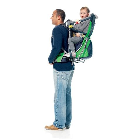 deuter kid comfort air sun roof and cover baby carrier