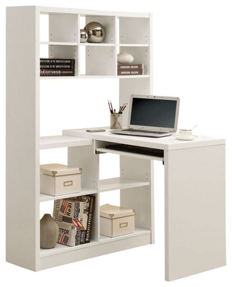 Monarch Specialties Corner Desk With Hutch by Monarch Specialties 38 X 36 Hollow Left Or Right