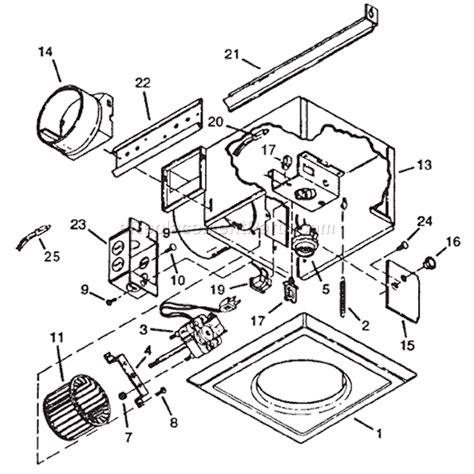broan 162 parts list and diagram ereplacementparts