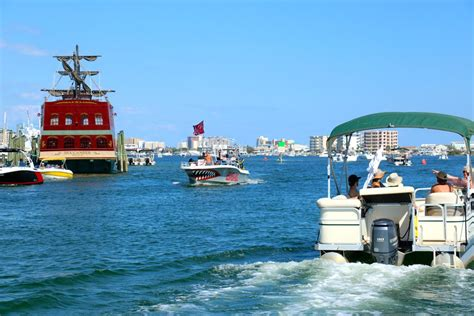 Destin Party Boat Rentals by Destin S Only Overnight Pontoon Boat Rentals