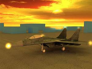 3D model Mikoyan Mig 29 Jet Fighter Aircraft VR / AR / low ...