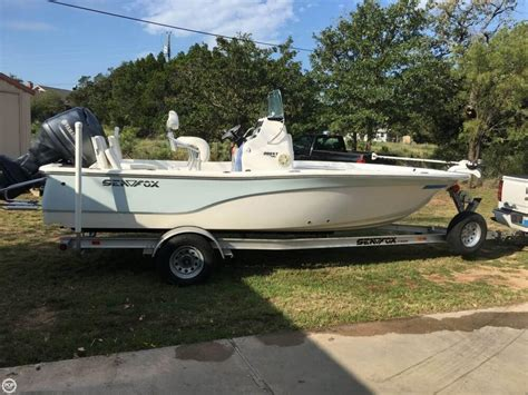 Used Sea Fox Boats For Sale In Texas by 2013 Used Sea Fox 200 Viper Bay Boat For Sale 27 999