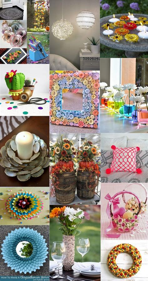 Diy Weekend Crafts Ideas To Decorate Your Home Dearlinks