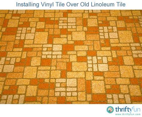 installing vinyl tile linoleum tile thriftyfun