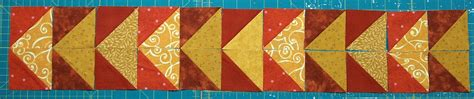 Triangle Quilt Border Templates by 10 Border Designs Made With Half Square Triangles Part 1