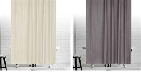 Extra Long Or Wide Fabric Shower Curtain In Black ,grey, Cream, White, Green Curtain Hanging Hardware Can I Put Long Curtains On Short Windows Blue And White For Living Room Black Turquoise Shower Yellow Gingham Kitchen Fabric Luxury Install Rod Through Tile South Africa
