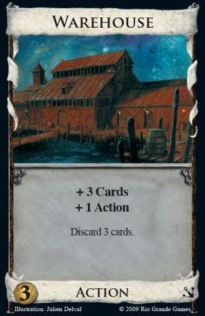 warehouse dominion deck builder