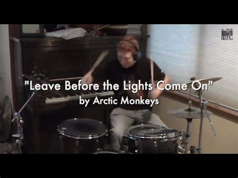 Arctic Monkeys  Leave Before The Lights Come On Drum