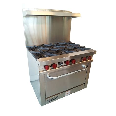 vulcan v36 value series 36 quot range 6 burner 1 oven best price guarantee prima supply