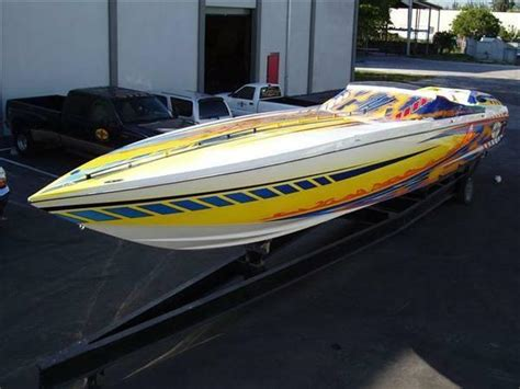 Cigarette Rough Rider Boats For Sale by 2005 Used Cigarette Rough Rider High Performance Boat For