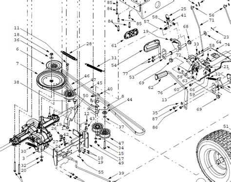 troy bilt pony parts diagram wiring wiring diagram gallery