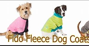 Fido Pet Shop : fido fleece dog coats best selection fido fleece quick ship fido fleece dog coats on sale ~ Markanthonyermac.com Haus und Dekorationen