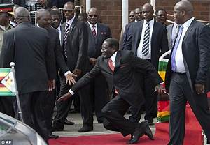 Mugabe 'suspends 27 bodyguards' for failing to stop his ...