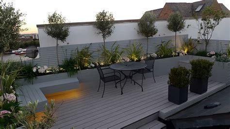 Roof Top Terrace : Roof Terrace Modern Garden Design-london Garden Blog