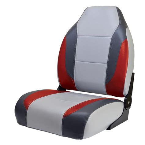 Red Fishing Boat Seats by Wise Seating Bass Boat Seat Gray Dark Red Charcoal West