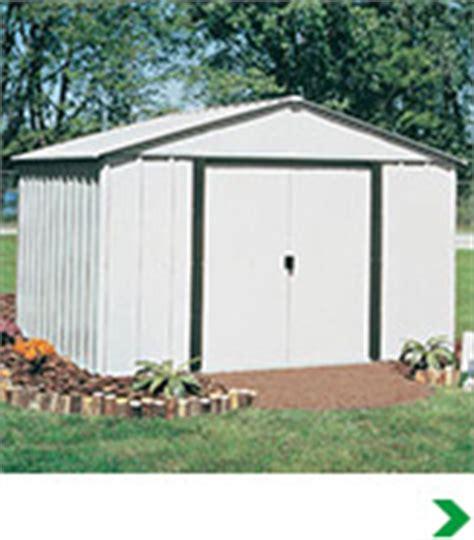 metal shed kits menards