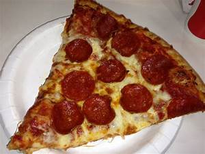 Slice of Pepperoni Pizza from the cafe. - Yelp