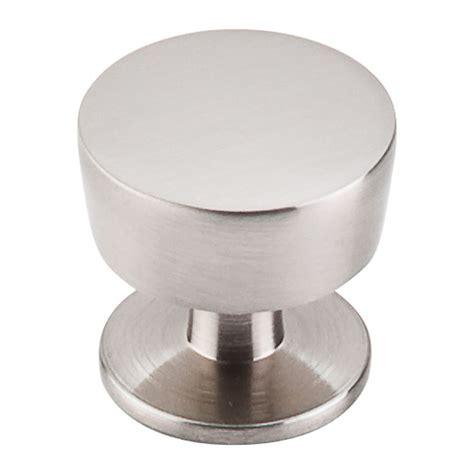 Modern Cabinet Knob In Brushed Satin Nickel Finish M1122