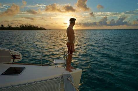 Bahamas Catamaran Charters Day Tours by Sunrise Swim Off The Kiwi Pryde A 50ft Catamaran Yacht