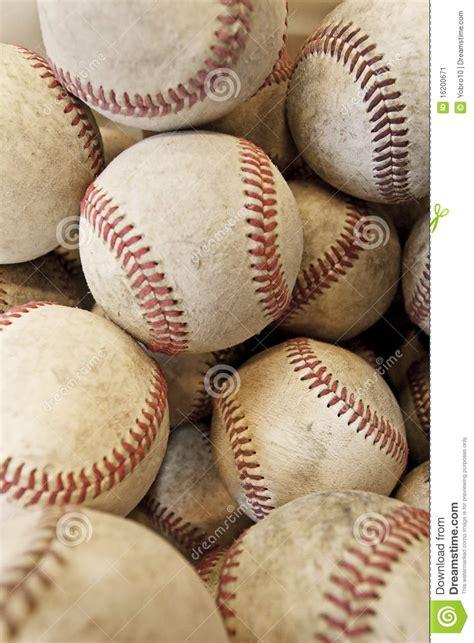Many Baseballs Form Baseball Season Sports Border Royalty