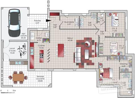 les 25 meilleures id 233 es de la cat 233 gorie plans de maison sur plan maison architecte