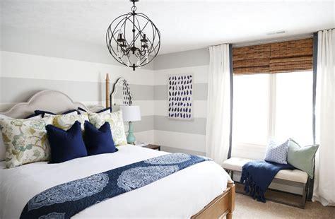 Serene Blue Guest Bedroom Makeover Reveal  Life On